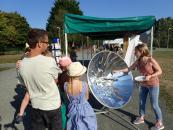 Sensibilisation aux usages de l'énergie solaire à Ferté plage !