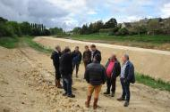 Travaux de restauration des rivières en Mayenne : visite des élus et des propriétaires concernés