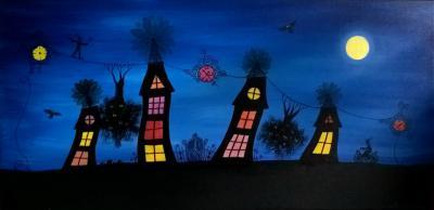 Lumières de Noël à la Maison du Parc