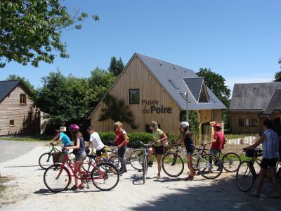 La route du poiré à vélo